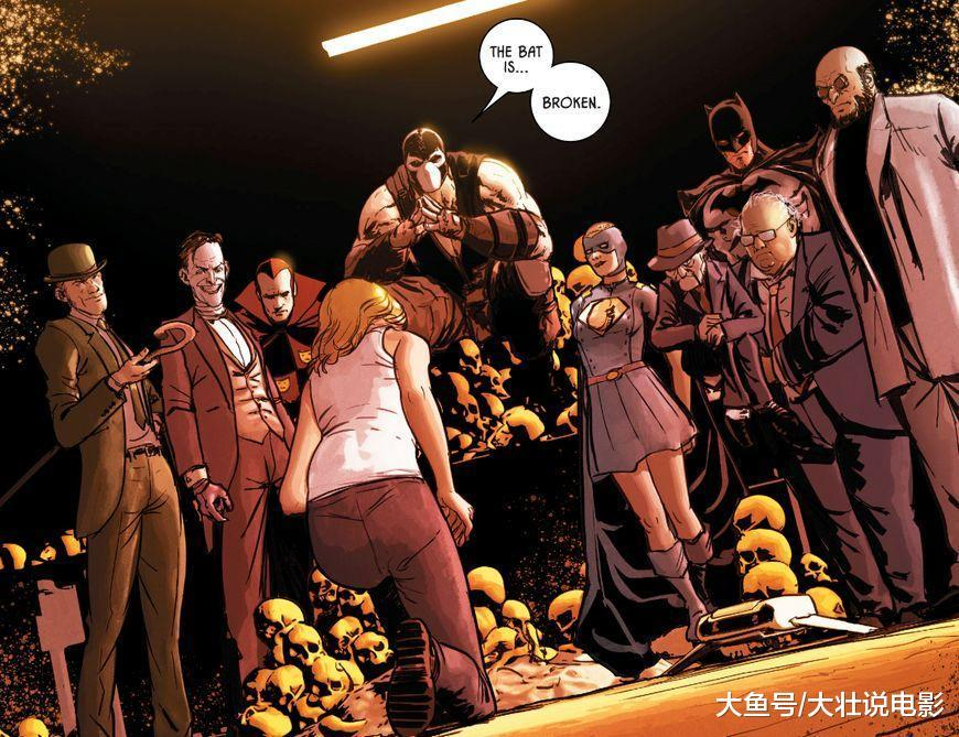 蝙蝠侠最大危机, 贝恩成为哥谭市最强反派, 小丑都成为他的手下!
