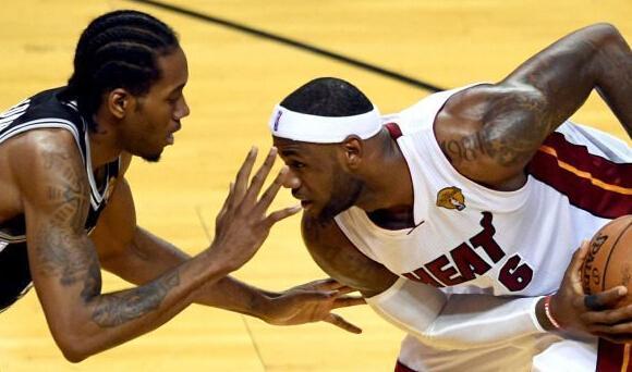 NBA五个最能戍守詹姆斯的球员, 巴蒂尔退役了, 现役另有谁?