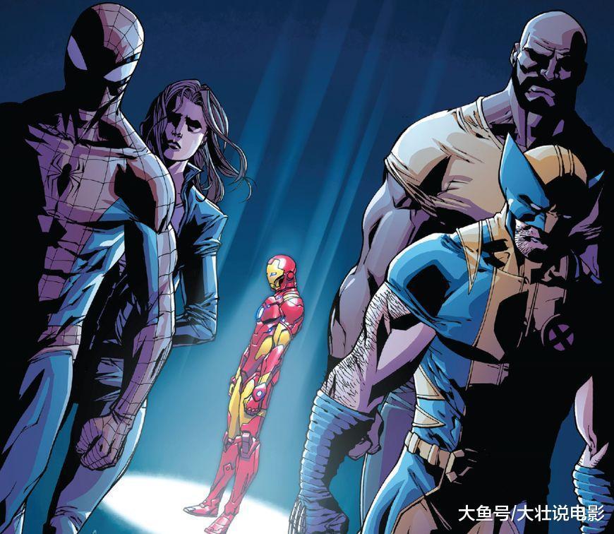 《寻找金刚狼》钢铁侠将盔甲分给其他英雄, 钢铁蜘蛛侠登场!