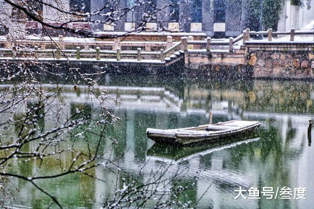 """今日大雪: 初雪天, 邀您共赏古诗词中的""""岁寒三友"""""""
