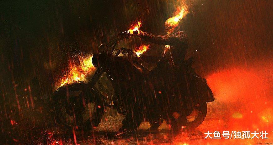 《复仇者》恶灵骑士起源更改? 百万年前的猛犸象骑士过分了吧?