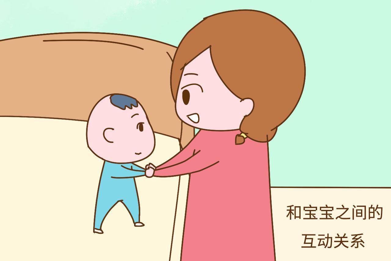 宝宝安全感够不够, 看看他和妈妈的相处模式就知道
