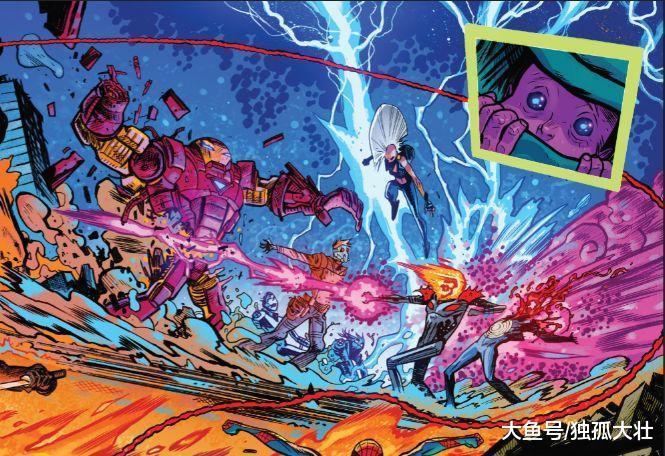 宇宙恶灵骑士将会大战惩罚者灭霸, 自己挖坑让灭霸长大, 怎么办?
