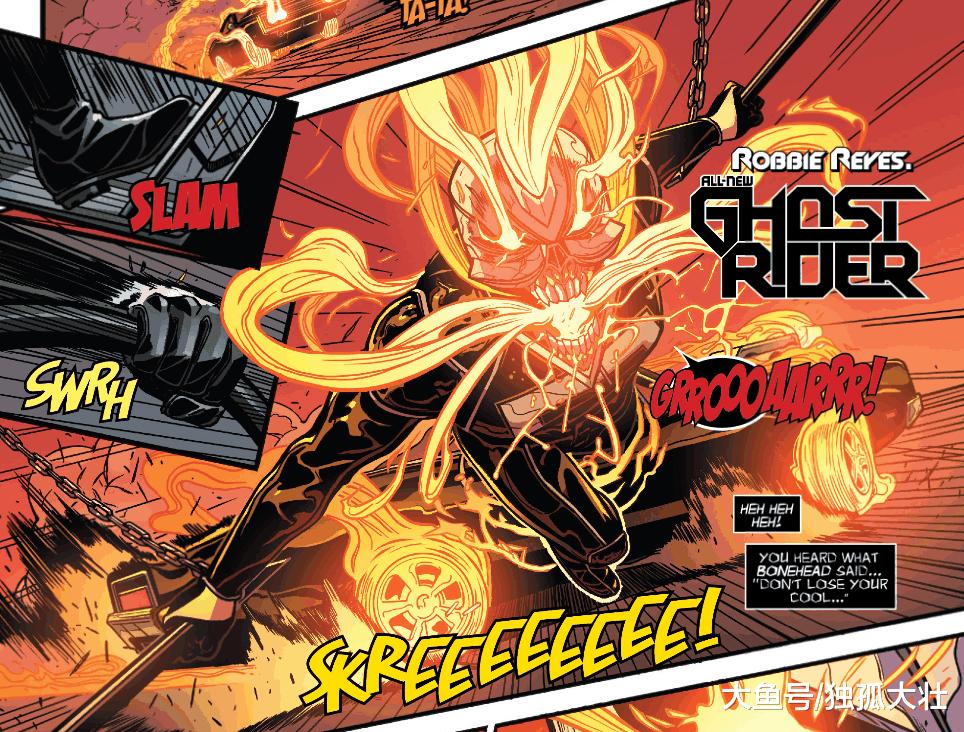 《复仇者》恶灵骑士沦为搞笑角色? 他们的力量远超你的想象!