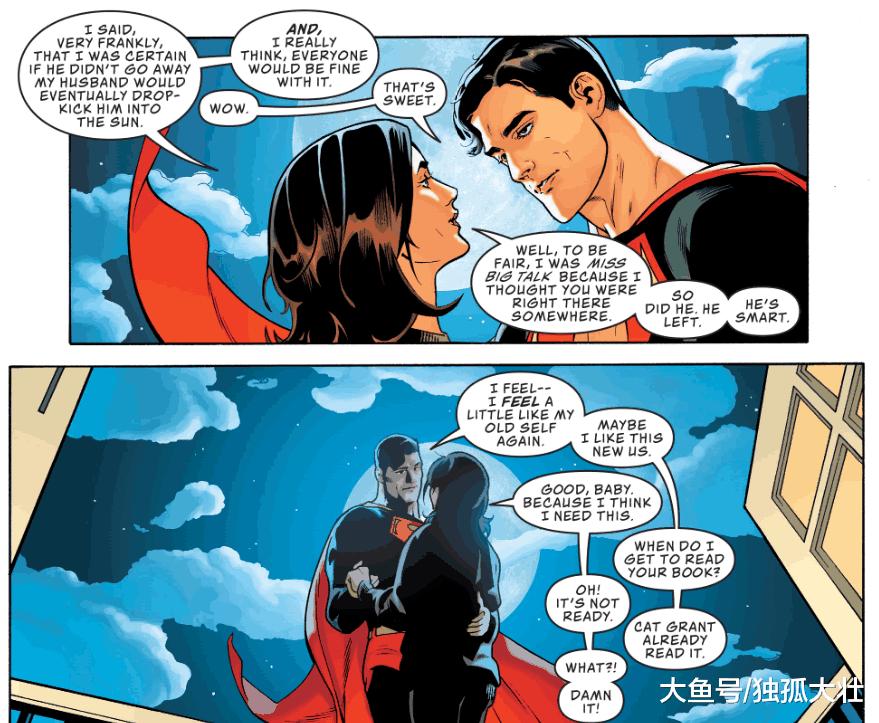 超人和露易丝决定分居, 感情危机结束, 他开始安心当超级英雄!