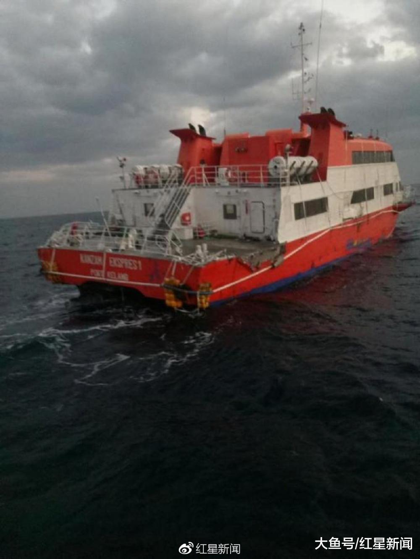 东海捡到豪华游轮追踪 发现游轮的船长: 船上还有鸡蛋、方便面、罐头