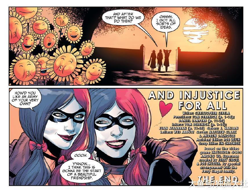 哈莉·奎因竟然认为小丑和蝙蝠侠应该结婚, 这真的是太尴尬了!
