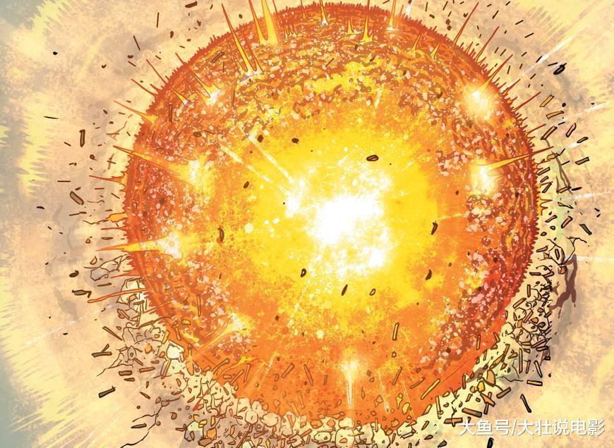 《钢铁之躯》超人大战毁灭氪星的幕后黑手, 愤怒中自爆了!