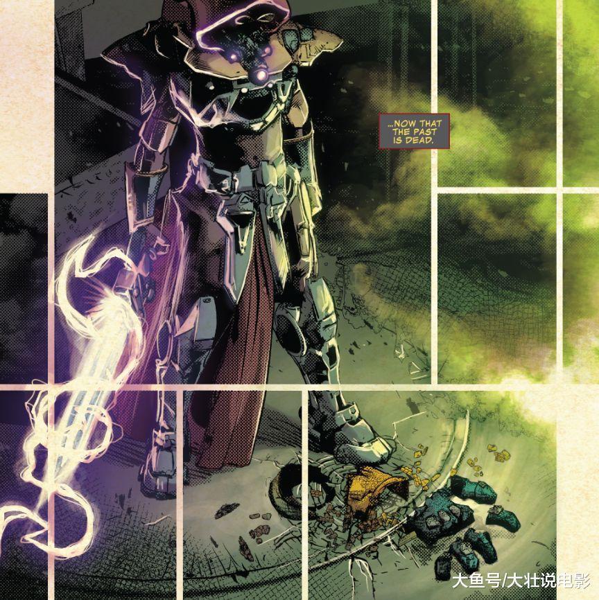 《无限战争》新反派镇魂曲出现, 团灭黑暗军团, 一剑秒杀灭霸!