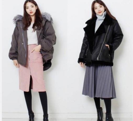 矮个子女生冬季就该这样穿!18套清纯干净搭配,短腿妹变长腿女神