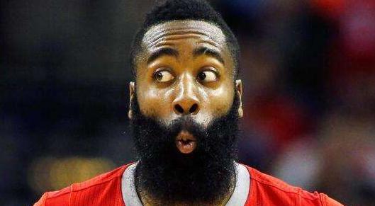 """两年内詹姆斯哈登到达了NBA最佳30分连胜的""""另一个级别"""""""