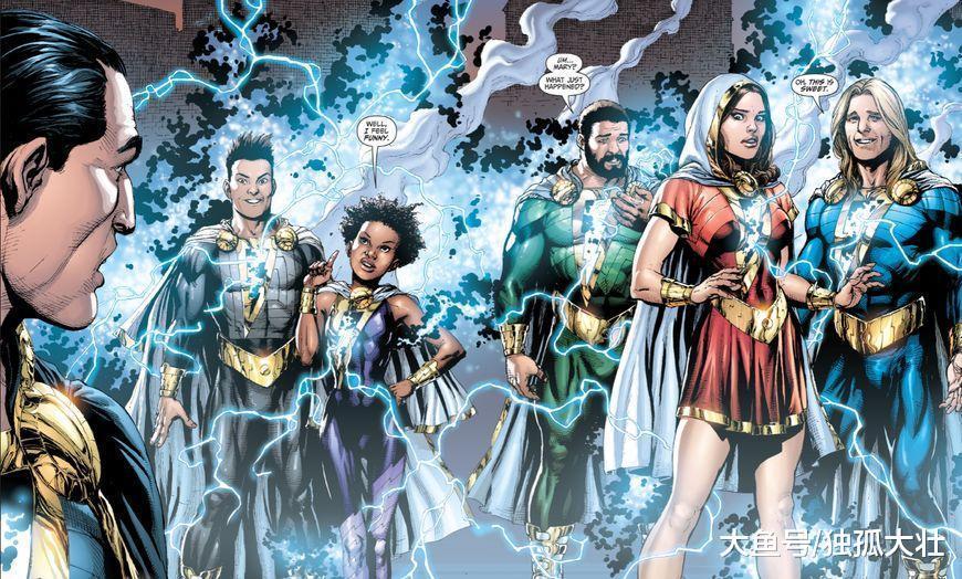《沙赞》全新连载漫画即将登场, DC最强编剧亲自执笔!