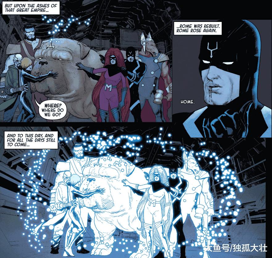 《异人: 灭族之殇》超级异人的真相被揭开, 黑蝠王差点崩溃!
