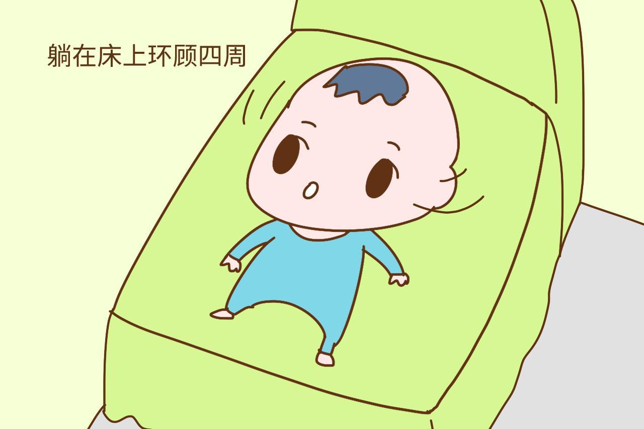 宝宝睡醒后有这些举动, 其实是聪明的表现, 妈妈就偷着笑吧