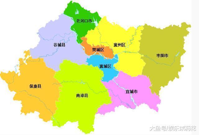 襄阳地图全图高清版