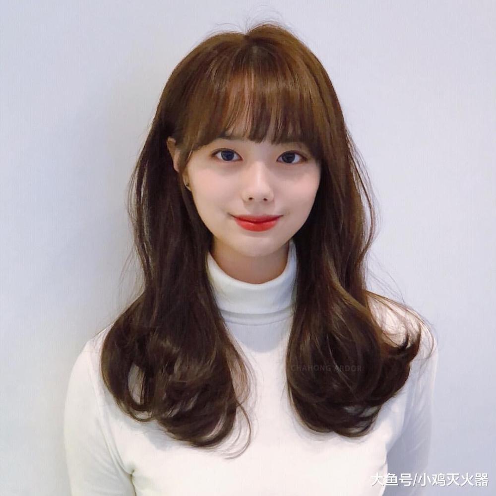 """最好看的韩式""""气垫烫""""造型范本,短发,中长发,长发一次图片"""