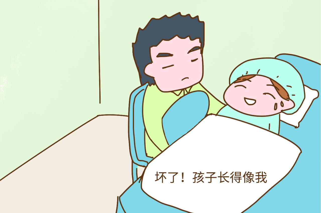 从产房出来后, 老公说的第一句话很可爱, 笑得肚子疼