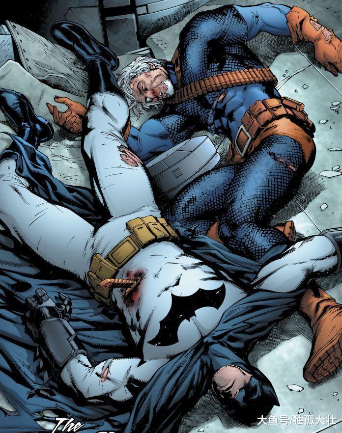 《蝙蝠侠大战丧钟》蝙蝠侠最丢人的时刻, 被人堵到蝙蝠洞了!