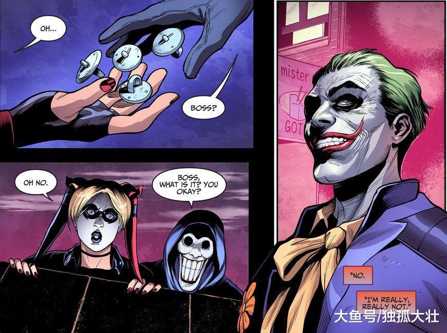 《不义联盟: 原爆点》小丑归来? 哈莉·奎因重建小丑帮!