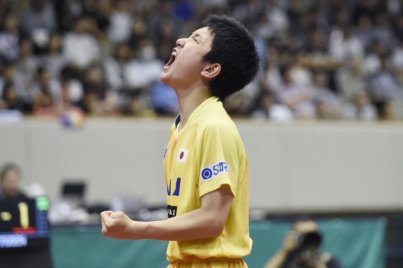 樊振东末结者出局! 日本神童4-0横扫巴西黑马 升级决赛剑指冠军