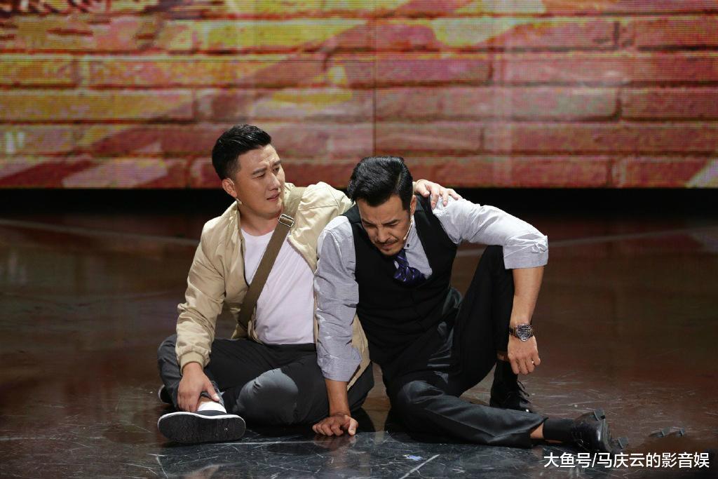 《跨界喜剧王》潘长江突然开挂, 载歌载舞找回春晚《过河》水平