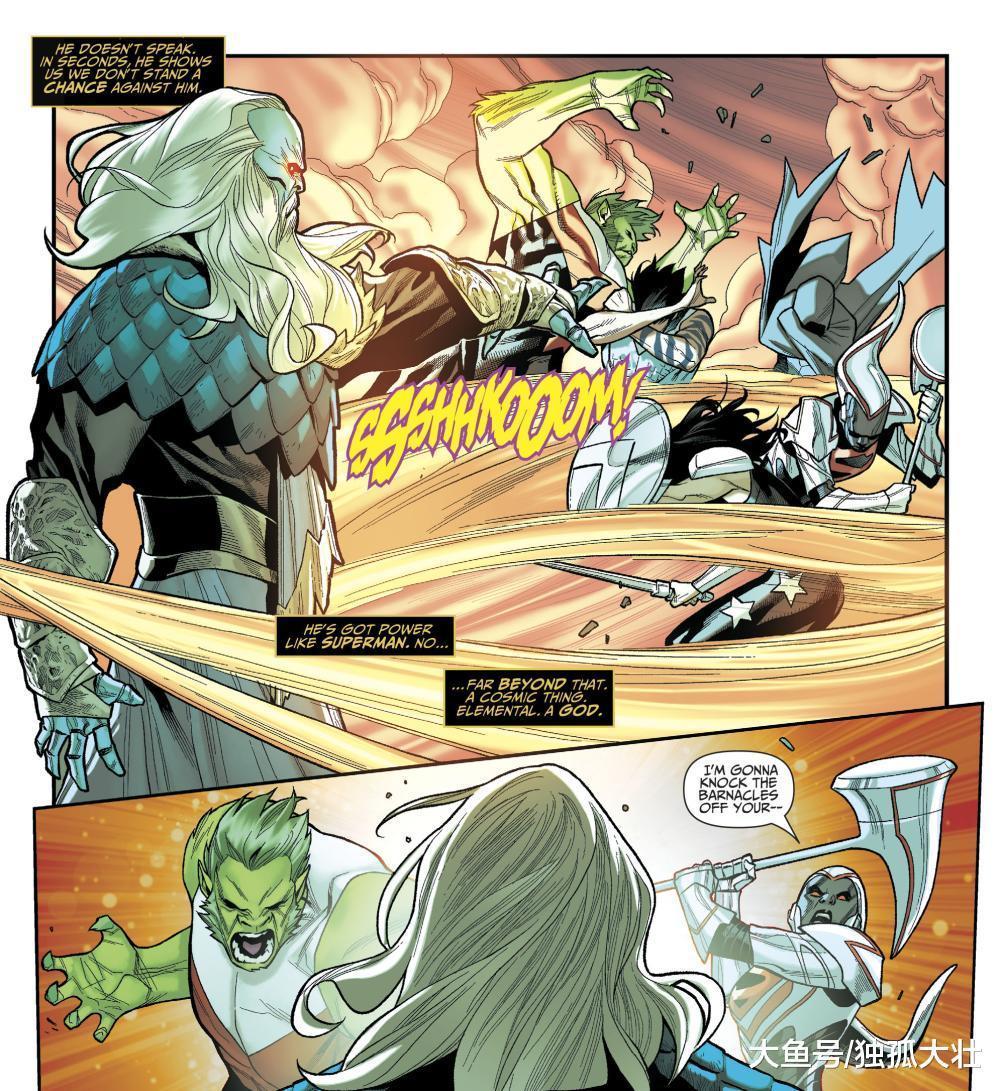 《泰坦》夜翼重伤, 泰坦遭遇解散危机, 外星海神强势来袭!