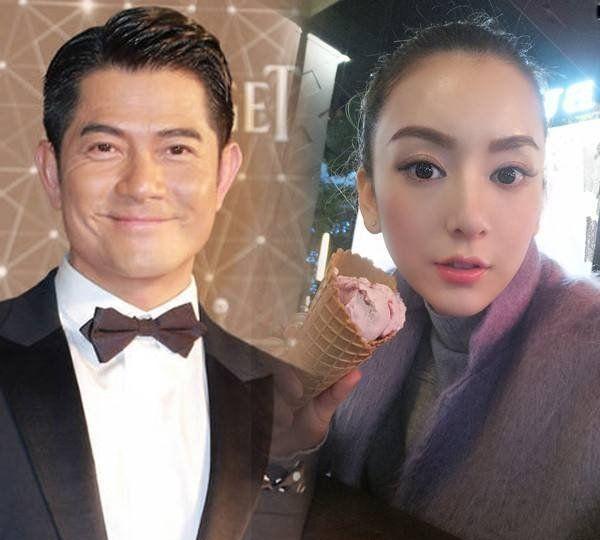 偶遇郭富城方媛看电影, 身材和脸超般配, 天王的眼神像在拍偶像剧