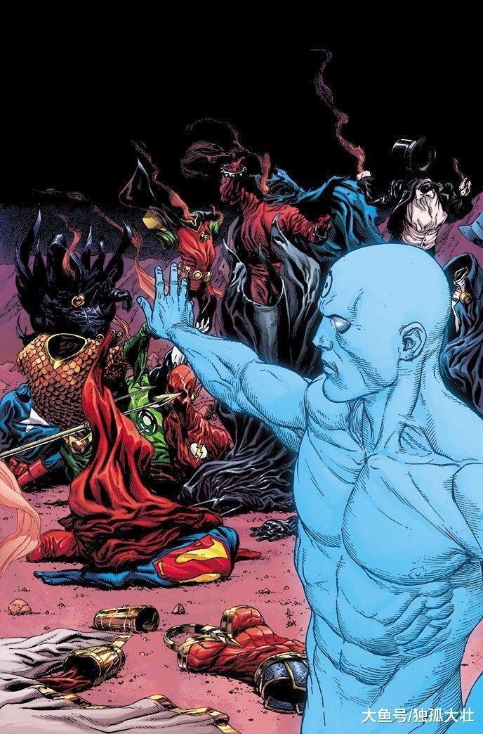 正义联盟团灭? 超人大战曼哈顿博士, 他真的能打败量子观察者吗?
