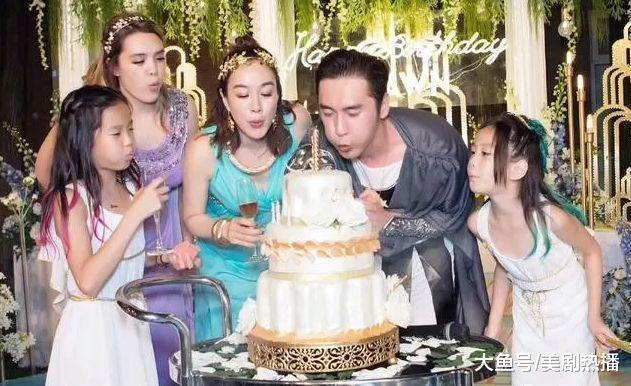 年近50岁的钟丽缇为张伦硕办party庆生, 网友表示既辣眼又感动!