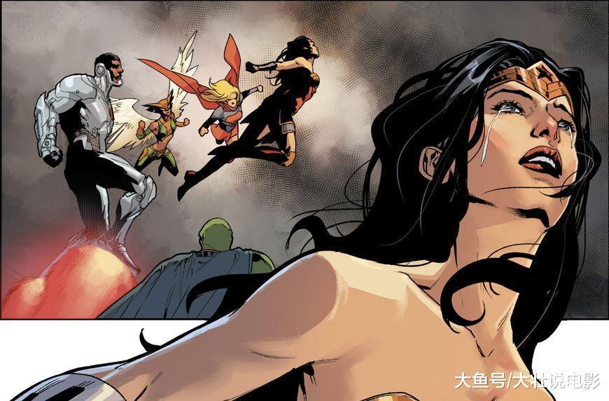 正义联盟被打败, 神奇女侠大战黑暗诸神, 英雄为地球牺牲了一切!