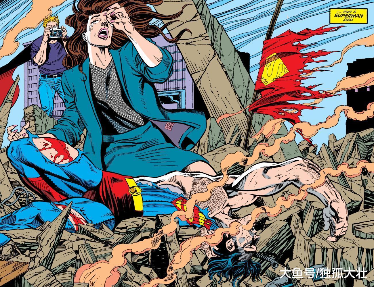 超人为何爱上神奇女侠? 这段感情最后还是变成了悲剧!