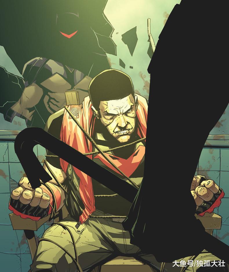 蝙蝠家族的命运, 失去好友的悲伤, 红头罩的心中充满了愤怒!
