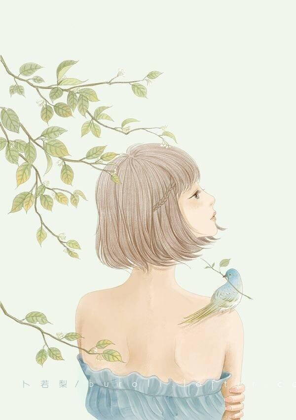 简约富有诗意的说说, 很优美很有意境, 总有几