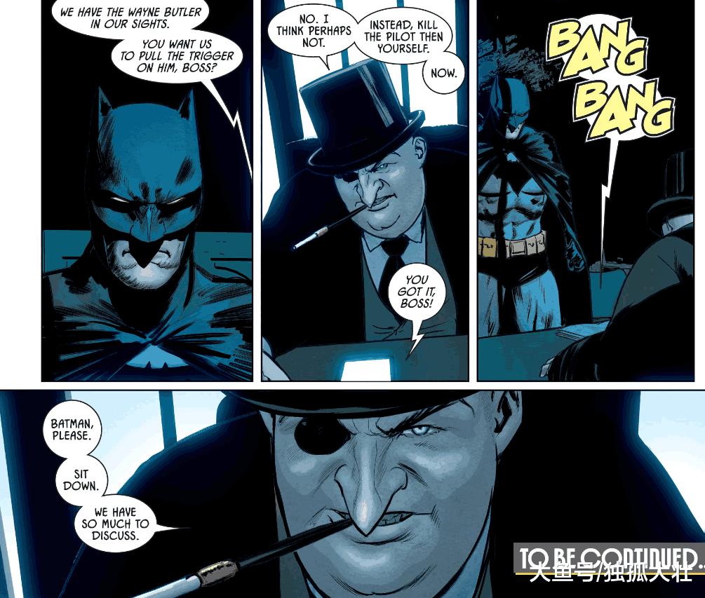 《蝙蝠侠》企鹅人早已经和贝恩联合, 他竟用老管家来威胁蝙蝠侠?