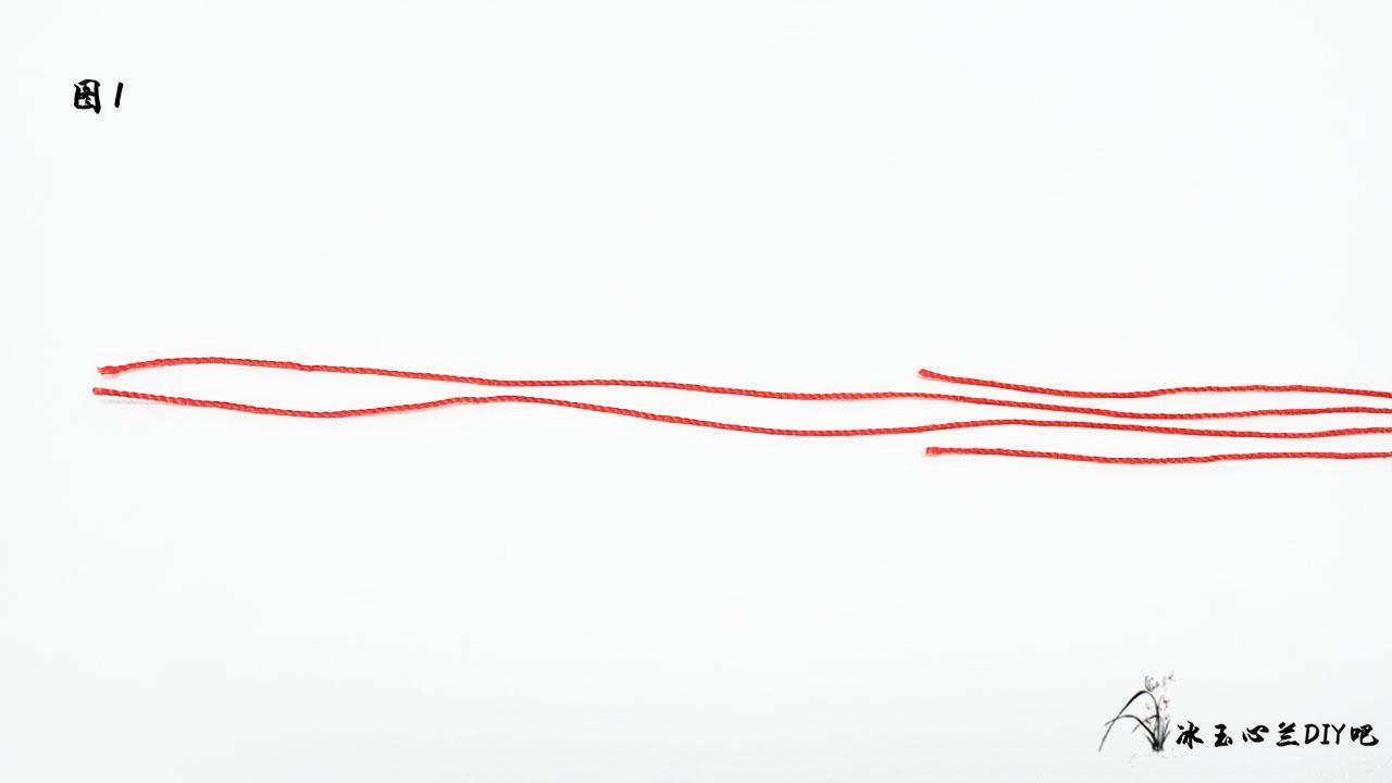 编绳波浪手链教程