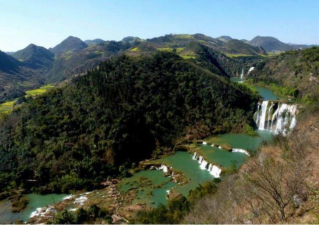 瀑布,峰丛,小三峡, 油菜花, 云南这座低调的旅游小城