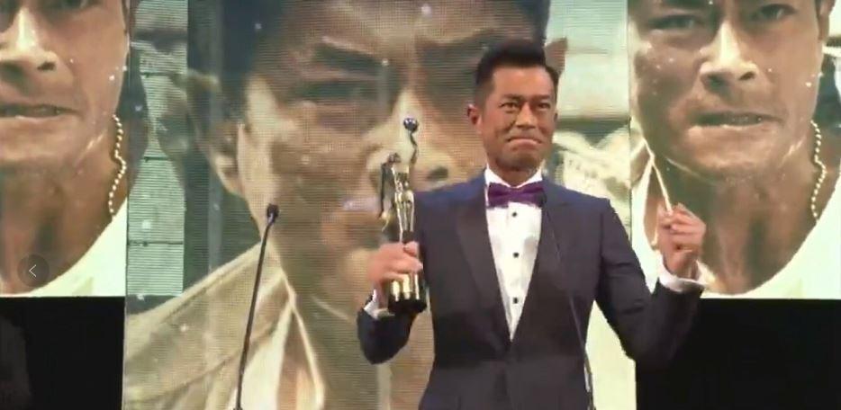 """两个""""杨过""""PK, 阿米尔・汗颁奖, 可我只在乎: 古天乐终于等到了金像奖!"""