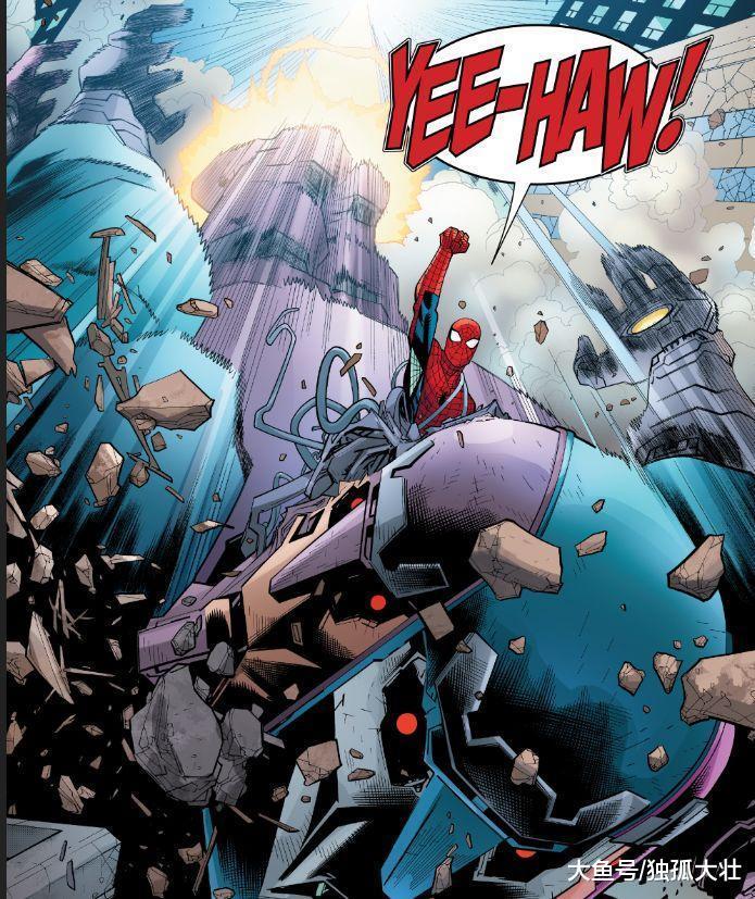 蜘蛛侠竟然分裂成为两人, 黑化蜘蛛侠大战六臂哨兵!