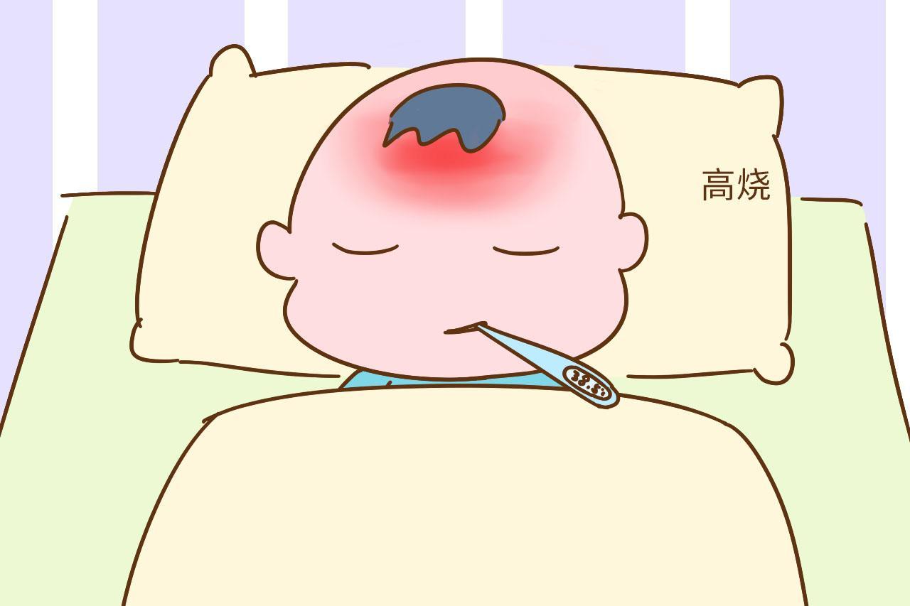 六个月后宝宝第一次发高烧, 是不是幼儿急疹?