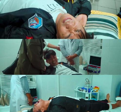 王宝强录制中脚伤复发疼痛难忍, 紧急送医, 网友: 心疼王宝强