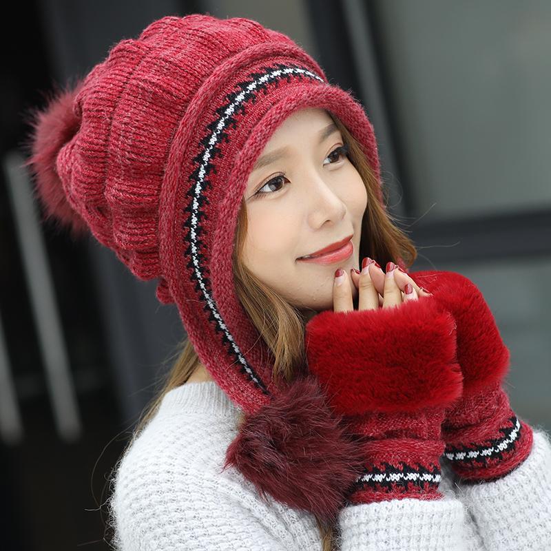 冬天女士帽子这样挑