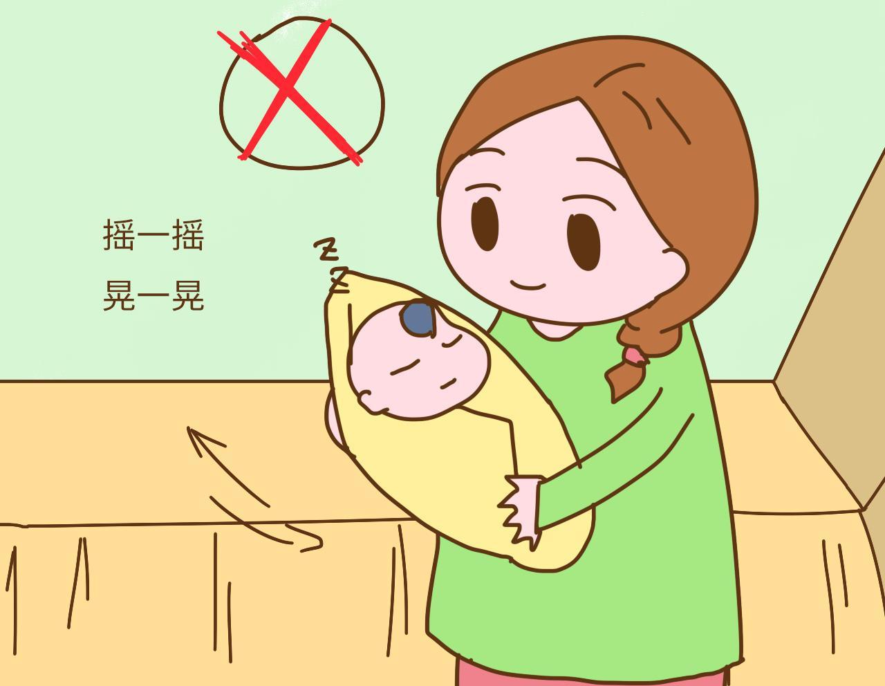 哄宝宝入睡时, 这4种方法不能用, 自己累得要命不说还坑娃