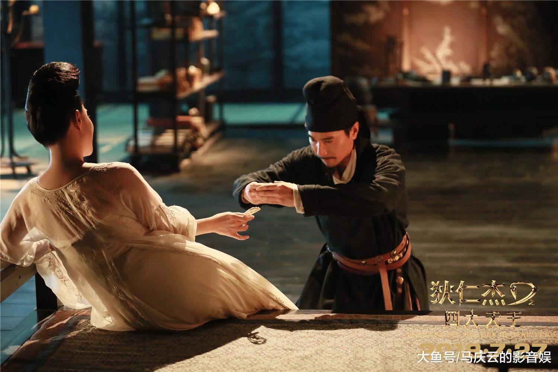 刘嘉玲将《狄仁杰3》演出风韵, 徐克的徐女郎为何如此性感