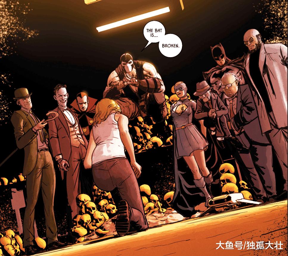 《蝙蝠侠》蝙蝠侠被谜语人利用, 小丑无奈加入了贝恩的阵营!