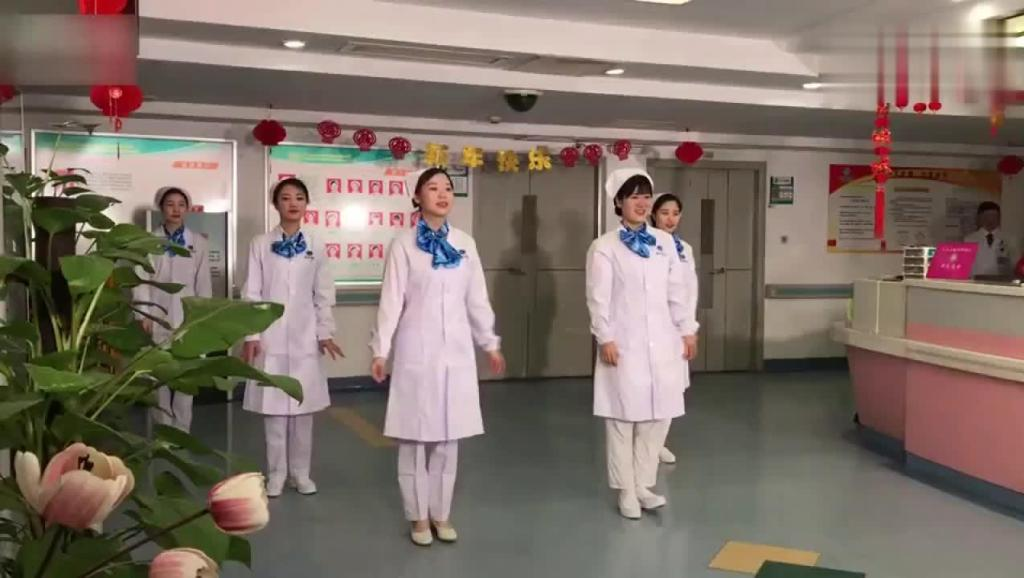 护士小姐姐集体跳《C哩C哩》舞, 有颜值又有才华的白衣天使