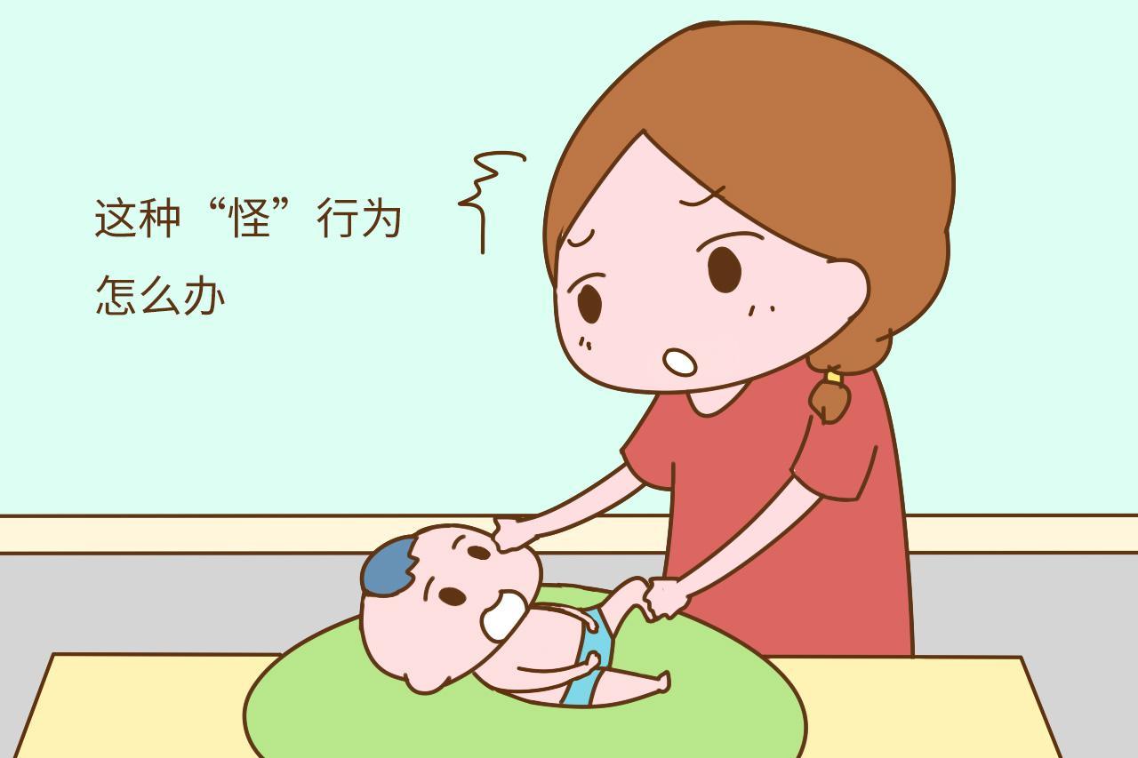 """你是否也为宝宝的""""怪""""行为而脸红呢? 其实, 宝宝只是太单纯"""