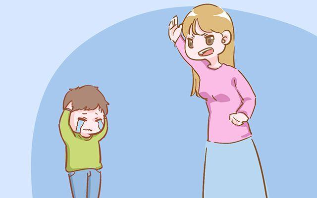 再生气也不要打孩子的这4个部位, 不然你就是亲手害了他