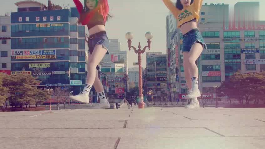 鬼步舞街头双人版C哩C哩! 你会跳吗?