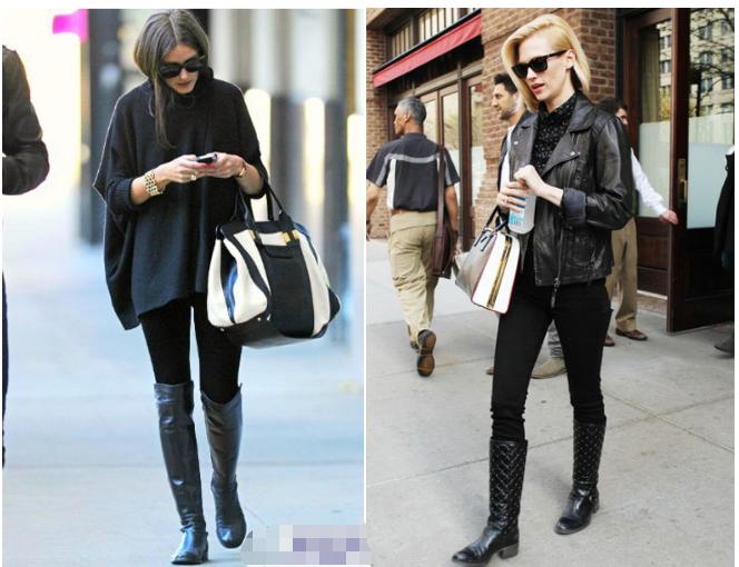 女人若是矮还胖,建议多穿黑鞋配黑裤!学会这3招,更显瘦高挑!