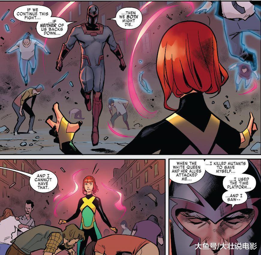X战警大战万磁王, 变种人未来一片黑暗, 逆转时间改变未来?